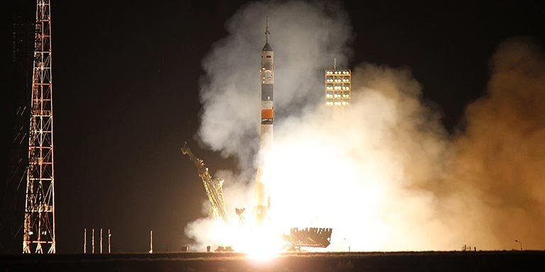 Soyuz TMA-09 Lift-Off